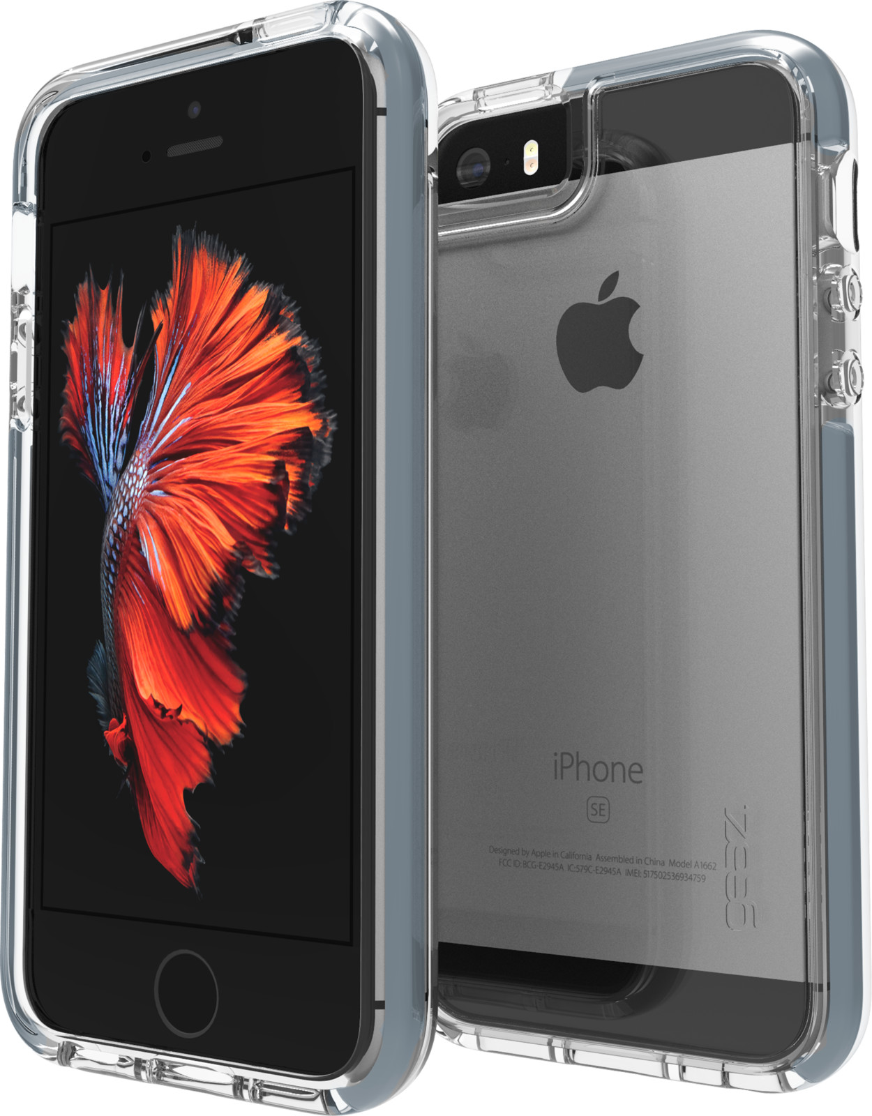 Gear4 D3O Piccadilly (iPhone 5/5S/SE) - Grå