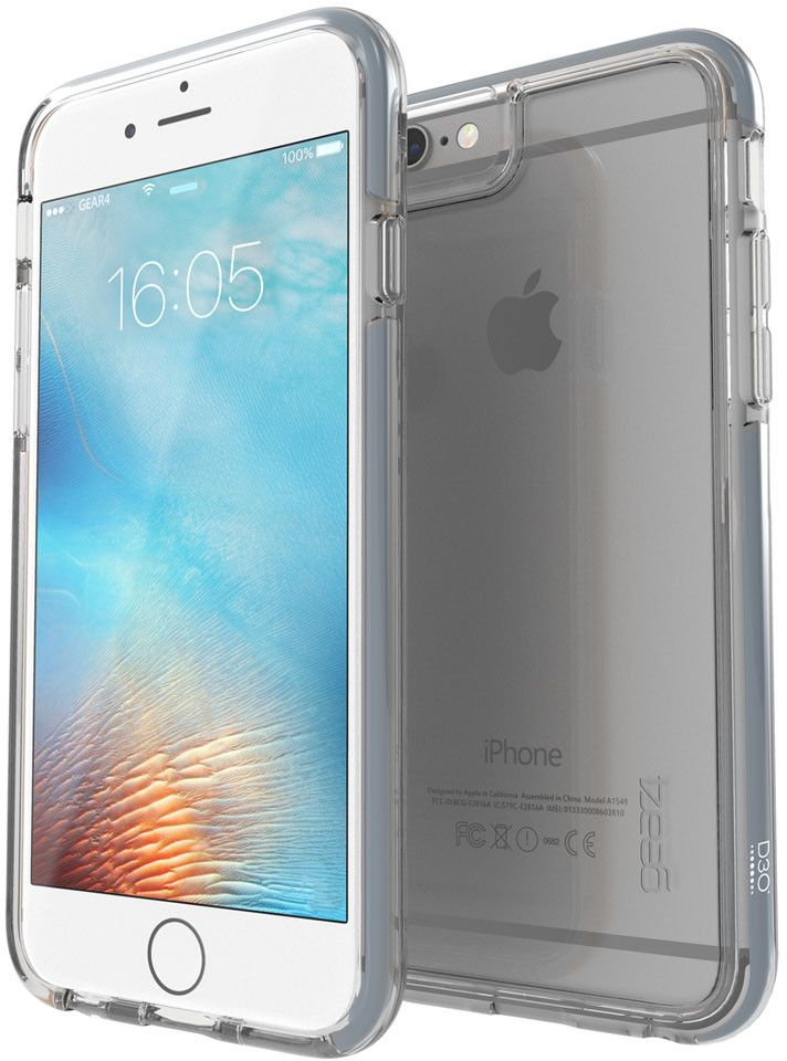 Gear4 D3O Piccadilly (iPhone 6(S) Plus) – Silver