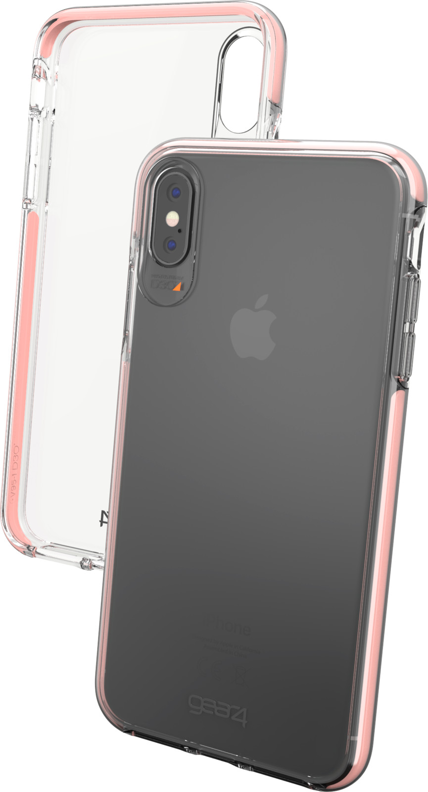 Gear4 D3O Piccadilly (iPhone Xs Max) - Roséguld