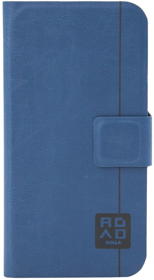 Golla Road Booklet (iPhone 6/6S) - Brun