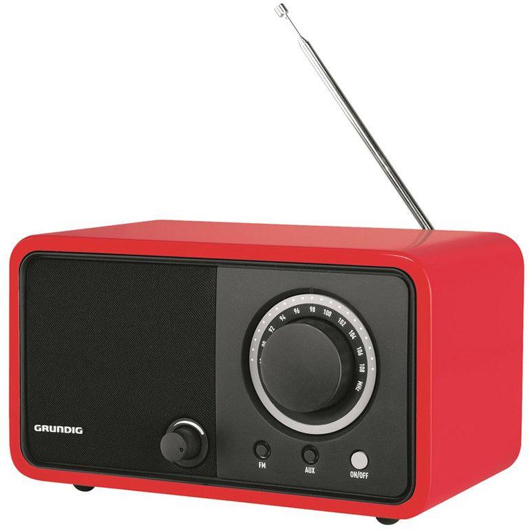 Grundig TR1200 – Röd