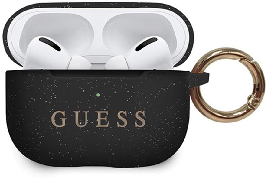 Guess AirPods Pro Silicone Case - Svart
