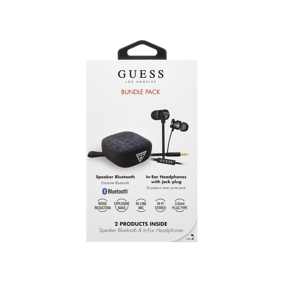 Guess Bundle Pack - Headset + Bluetooth-speaker