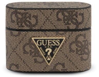 Guess Charms 4G Collection (AirPods Pro) - Brun