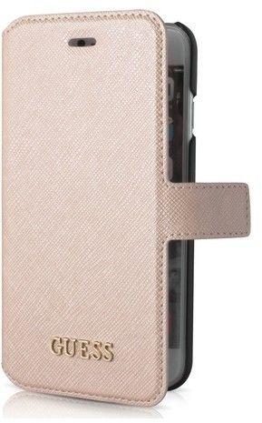 Guess Saffiano Look Wallet (iPhone 7) – Svart