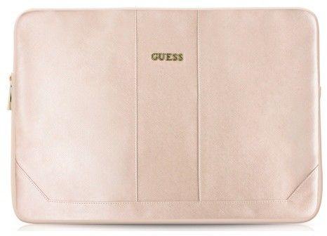 Guess Saffiano Sleeve (iPad Pro 12,9) – Svart