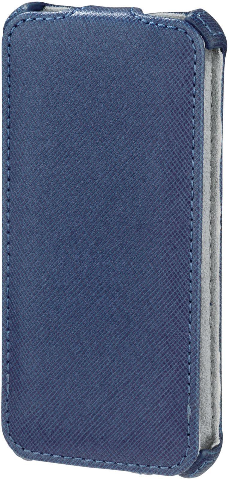 Hama Flip-Front Case (iPhone 5/5S/SE) - Blå