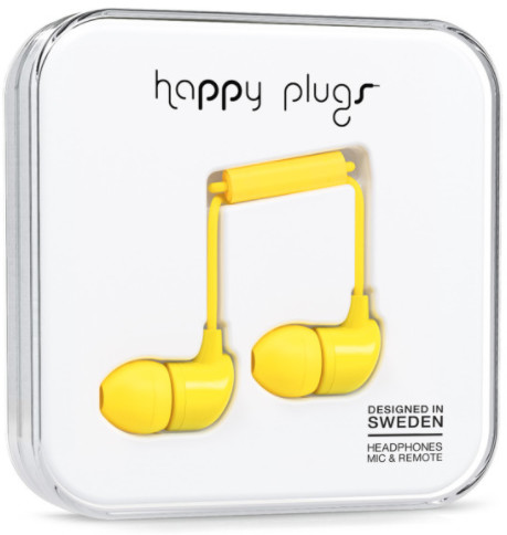 Happy Plugs In-Ear - gul