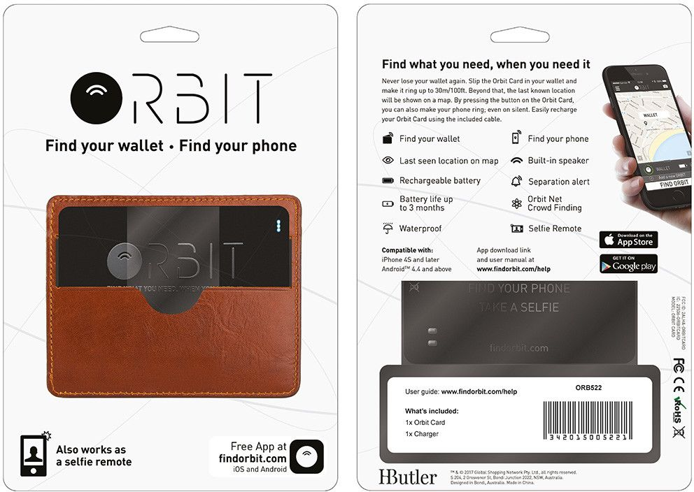 HButler Orbit Card