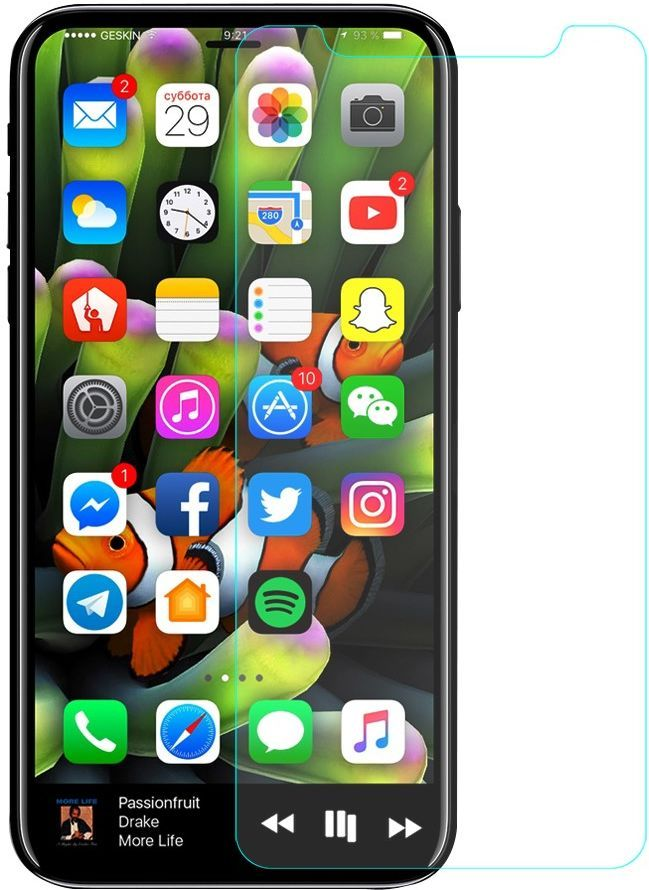 HD Tempered Glass (iPhone X)