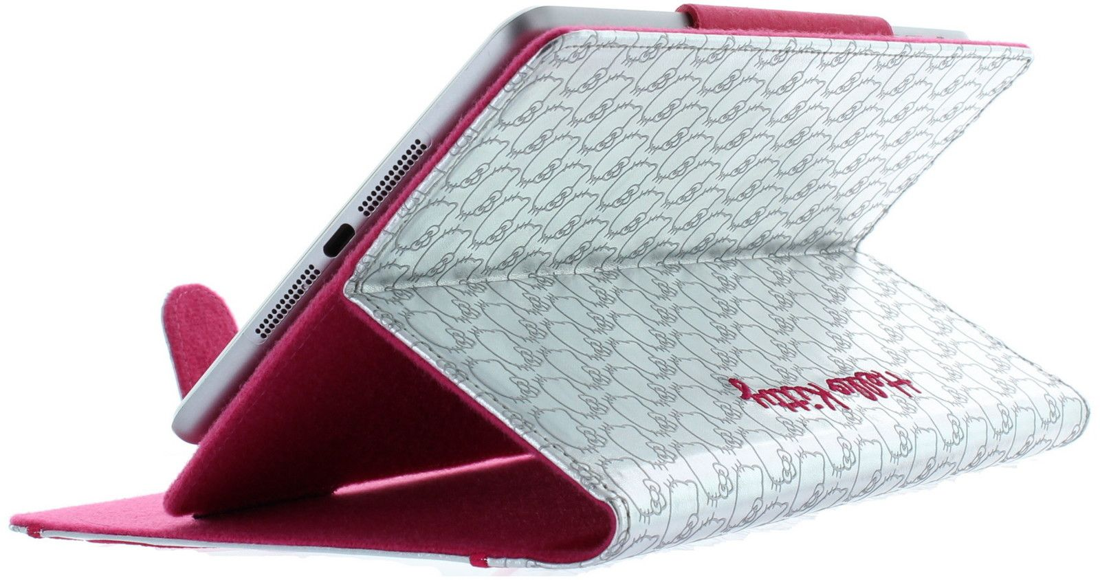 Hello Kitty Silver Folio Cover (iPad mini)