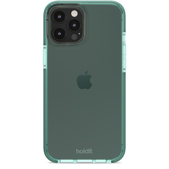 Holdit SeeThru Case (iPhone 12 Pro Max) - Grön