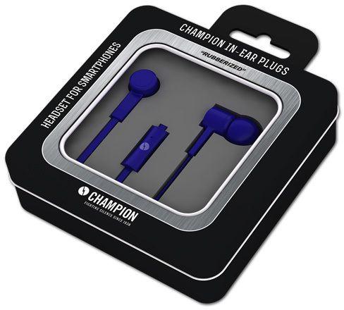 Champion Headset In-Ear Plugs - Blå