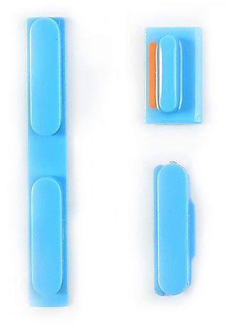 Knappsats (iPhone 5C) - Blå