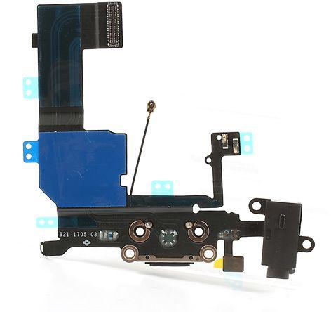 Lightningport med wifi-antenn 3G-antenn hörlursingång och mic (iPhone 5C)