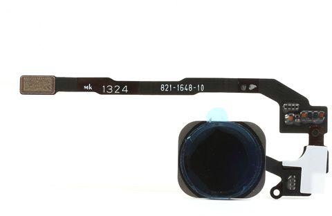 Home-knapp med Flexkabel (iPhone 5S) – Svart