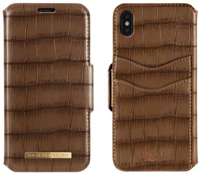 iDeal Of Sweden Capri Wallet (iPhone Xs Max) - Brun