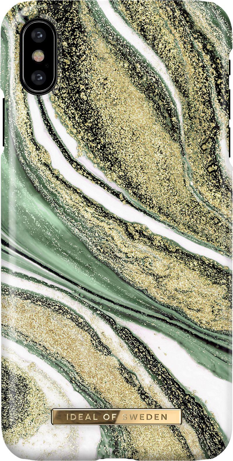 iDeal Of Sweden Cosmic Swirl (iPhone 11 Pro) - Green Swirl