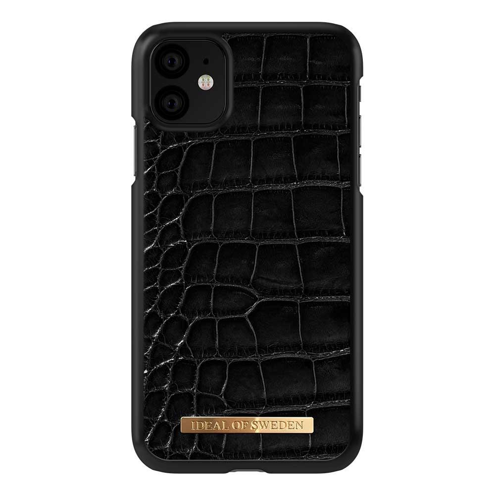 iDeal Of Sweden Croco Case (iPhone 11) - Svart