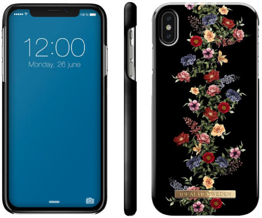 iDeal of Sweden Dark Floral (iPhone Xs Max)