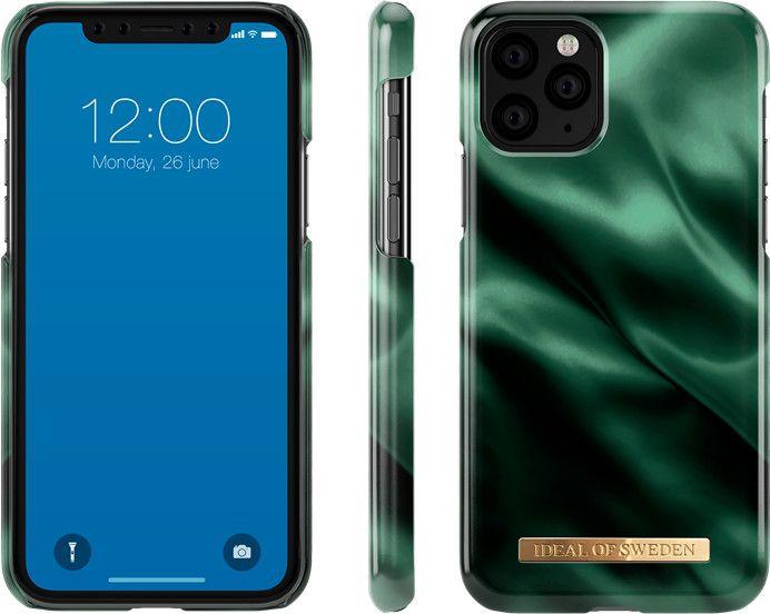 iDeal of Sweden Satin Case (iPhone 11 Pro) - Emerald Satin