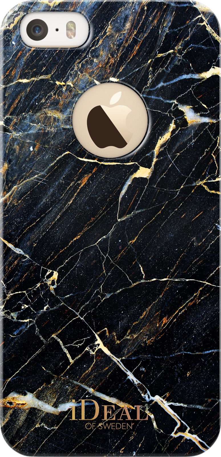 iDeal Of Sweden Fashion Marble (iPhone 5/5S/SE) – Svart/guld