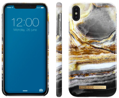 iDeal Of Sweden Fashion Marble (iPhone Xs Max) - outer space agate