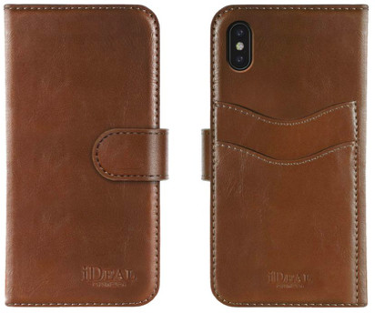 iDeal Of Sweden Magnet Wallet+ (iPhone Xs Max) - Brun
