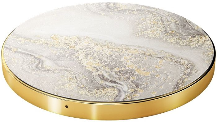 iDeal Of Sweden Marmor Qi Charger - sparke greige marble