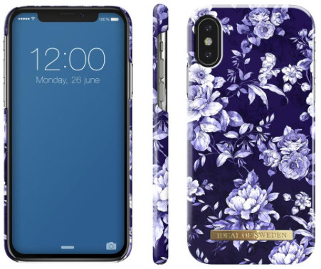 iDeal of Sweden Sailor Blue Bloom (iPhone X/Xs)