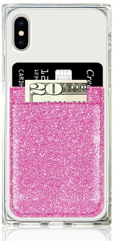 iDecoz Leather Phone Pocket - Glitter