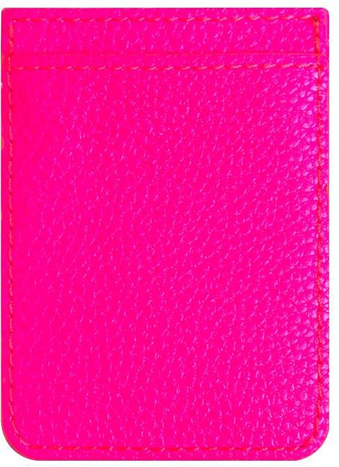 iDecoz Leather Phone Pocket - Neon - Gul