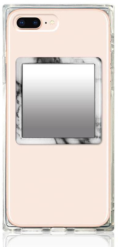 iDecoz Phone Mirror - Marble - Svart