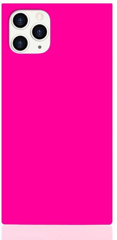 iDecoz Square Case - Neon (iPhone 11 Pro) - Gul