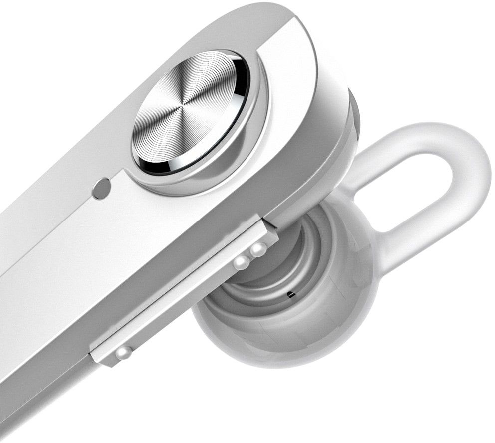 Baseus A01 Wireless Bluetooth Headset - Silver