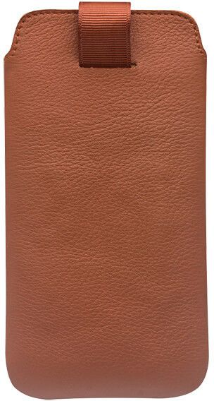 Qialino Leather Pouch (iPhone X/Xs) - Brun