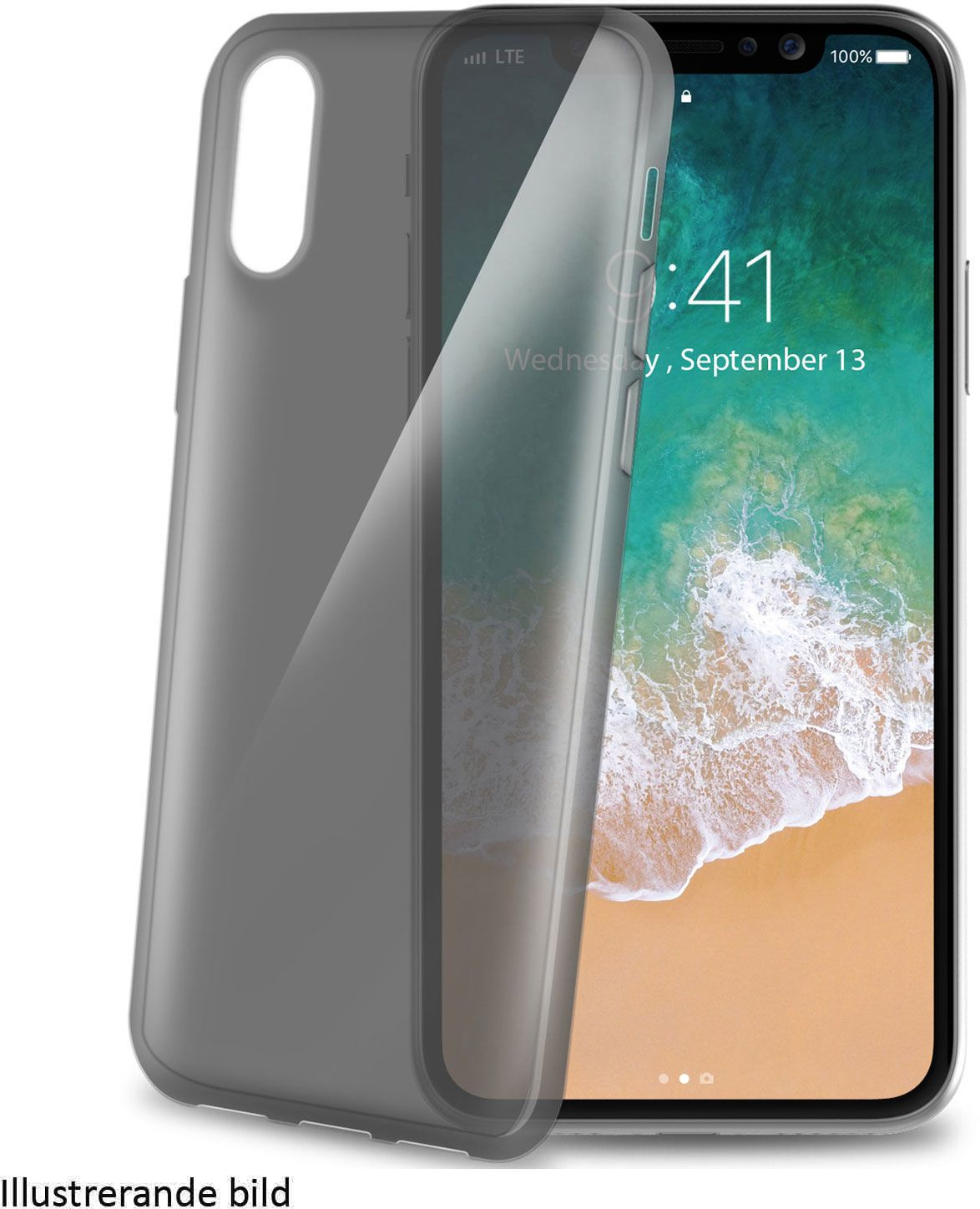Celly Gelskin Cover (iPhone Xr) - Transparent