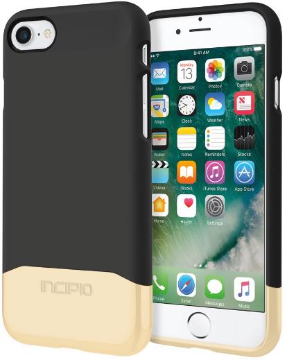 Incipio Edge Crome (iPhone 7) – Svart/guld