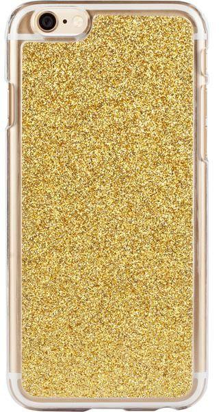 iDeal of Sweden HardCover+ Glitter (iPhone 6/6S) – Gulguld
