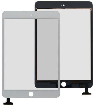 Ytterglas med Digitizer (iPad Mini 1) – Vit