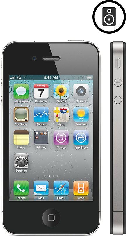 Laga Yttre Högtalare (iPhone 4S)