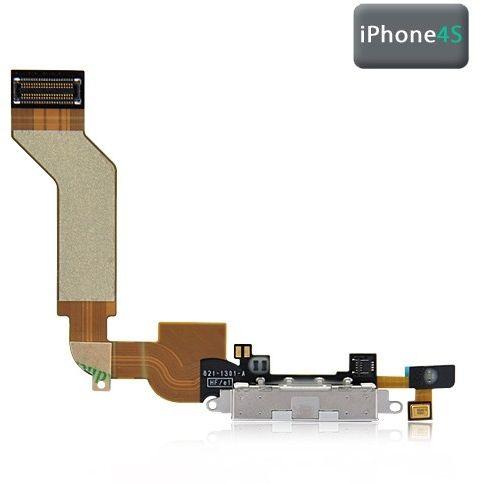 Dockningsport Flexkabel (iPhone 4S) – Svart