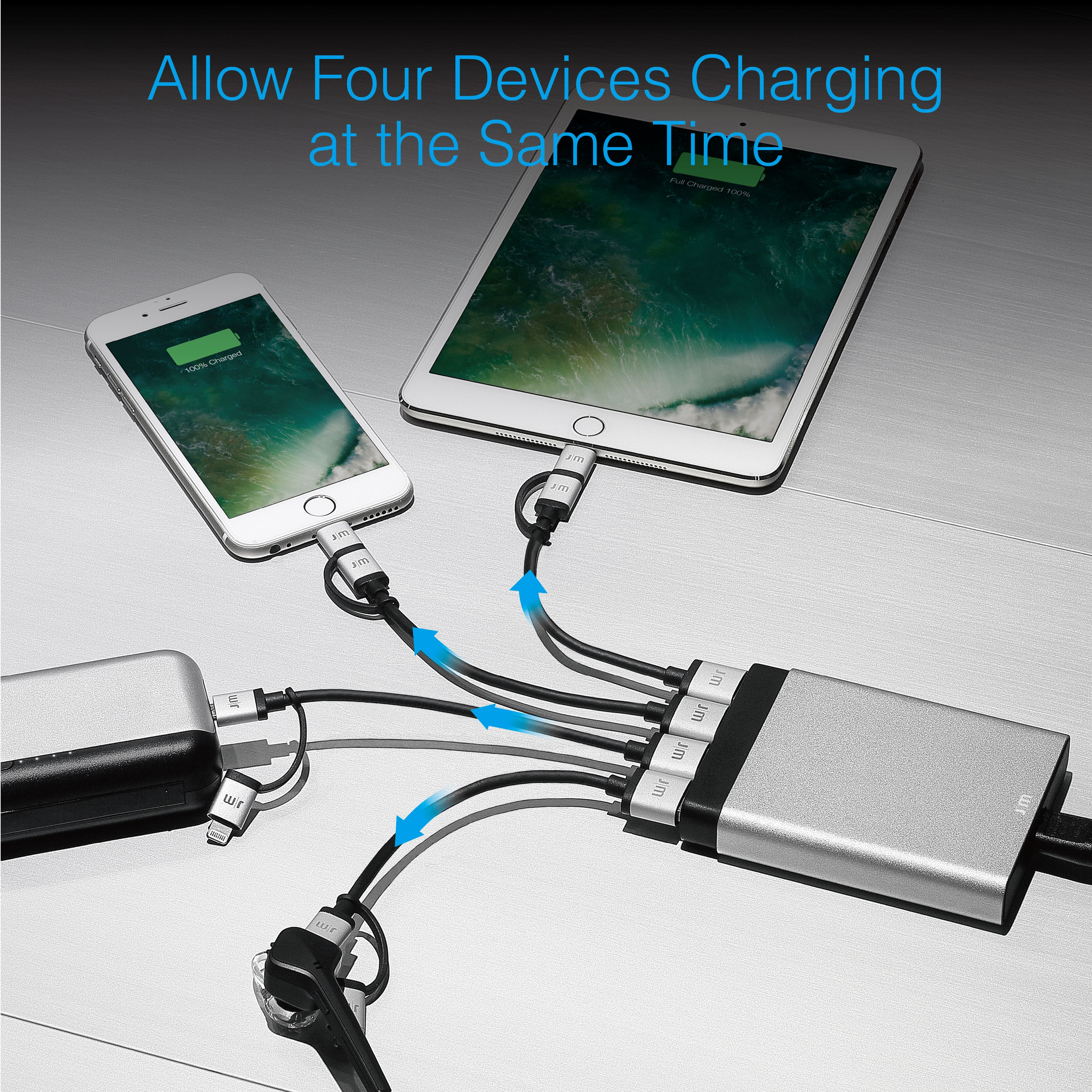 Just Mobile AluCharge Multi-Port Charger