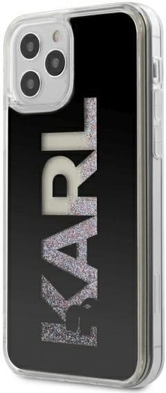 Karl Lagerfeld Hard Logo Case with Glitter