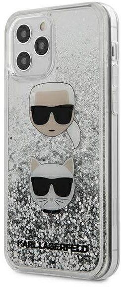 Karl Lagerfeld Karl & Choupette Liquid Glitter (iPhone 12 mini)