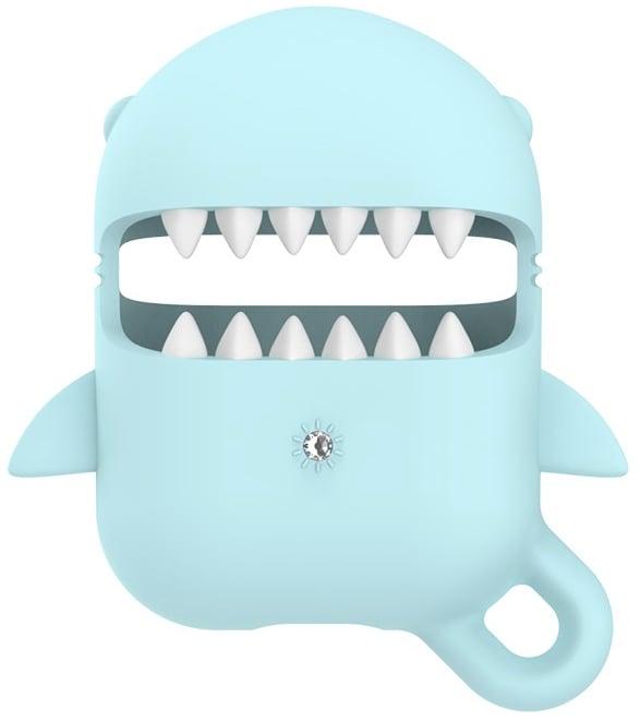 Kingxbar Apple AirPods Case - Cartoon Shark