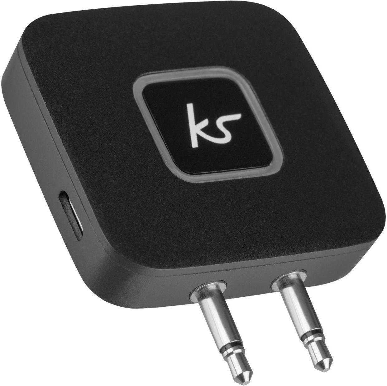 Kitsound Bluetooth Airline Adapter