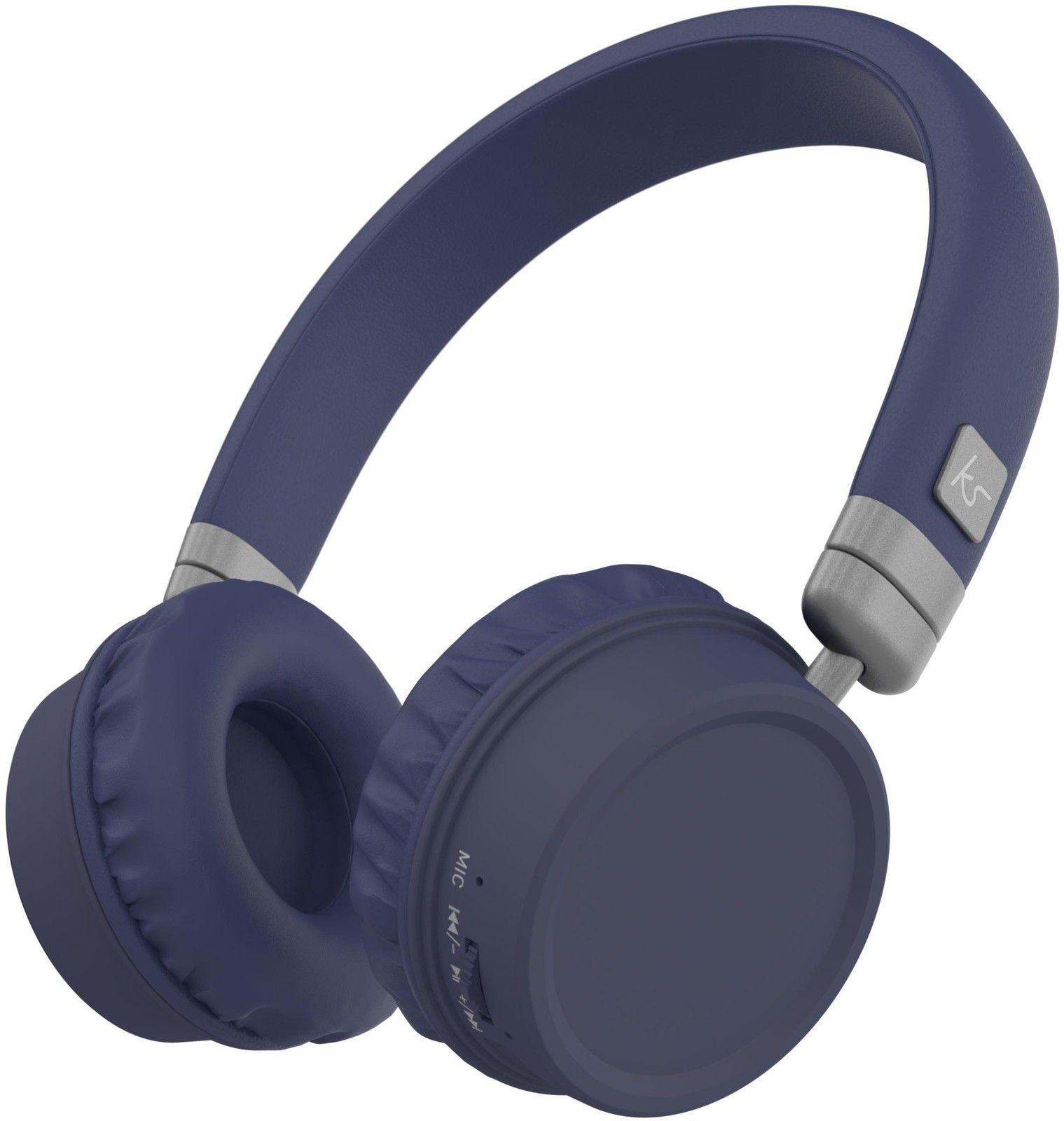 Kitsound Harlem Wireless Headphones – Lila
