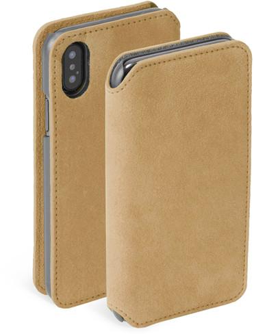 Krusell Broby 4 Card SlimWallet (iPhone Xs Max) - Grå