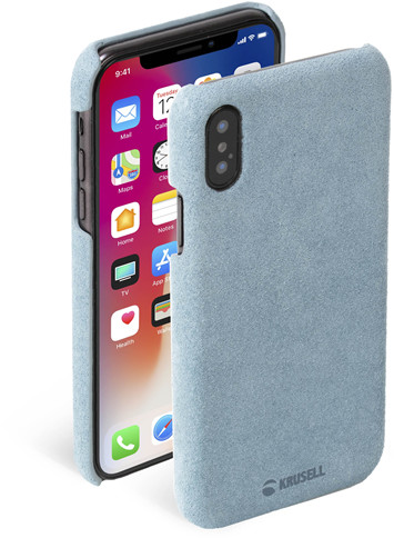 Krusell Broby Cover (iPhone X/Xs) - Blå